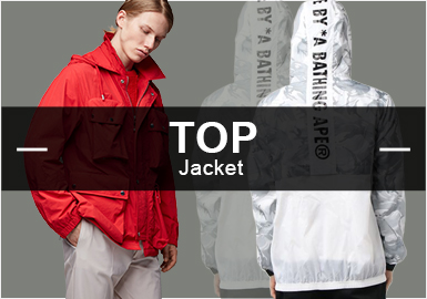 Jackets -- S/S 2019 Popular Items in Menswear Markets