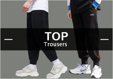 Sweatpants -- Recommended S/S 2019 Hot Items in Menswear Markets