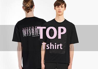 T-shirt -- 2019 Resort Hot Items of Menswear