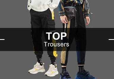 Trousers -- S/S 2019 Hot Items in Menswear Market