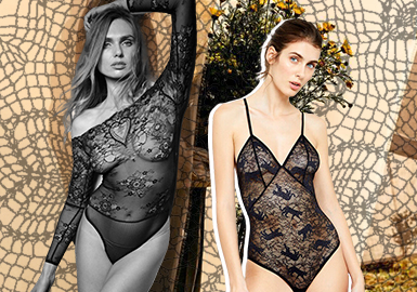 Fun Lace -- The Fabric and Accessory Trend for Women's Underwear