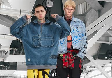 Denimism -- Silhouette Trend of Men's Denim Jackets