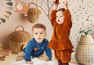 Nature -- Theme Design and Development of Infants' Wear