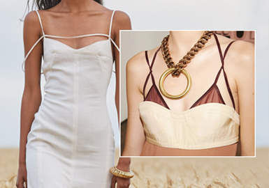 Changes on the Chest -- The Craft Detail Trend for Womenswear