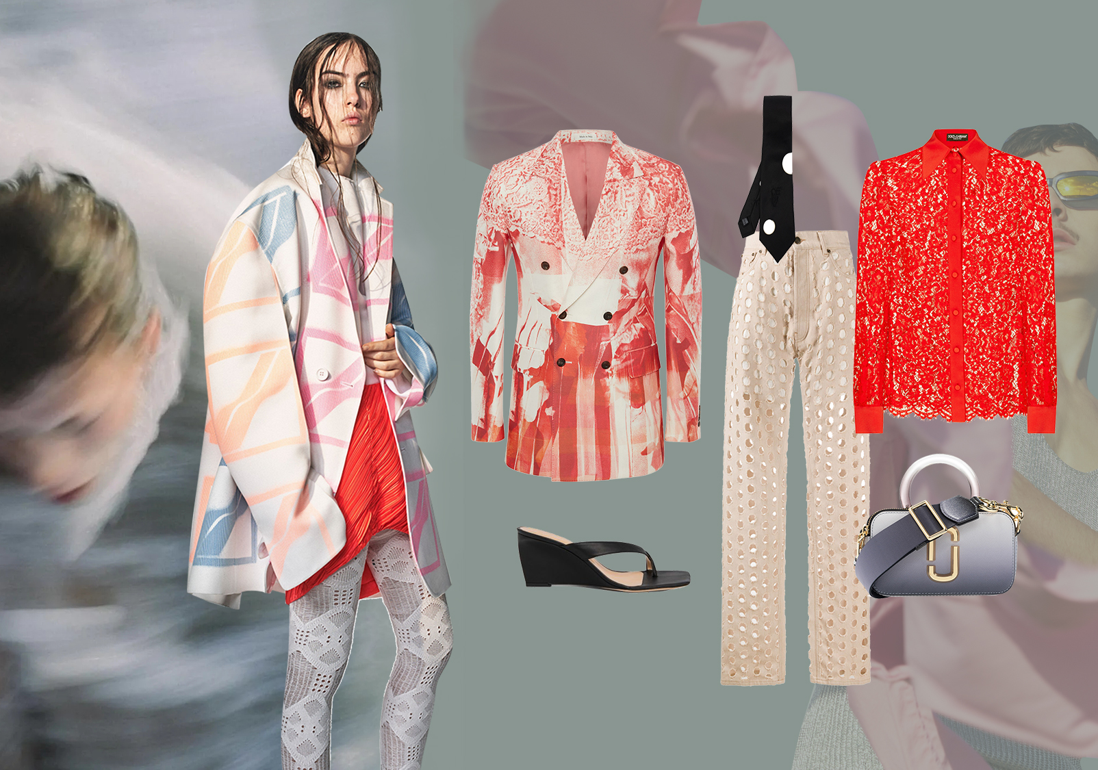 Blurred Gender -- Clothing Collocation for Womenswear