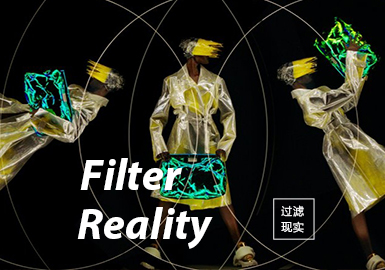 Filter Reality -- S/S 2022 Theme Trend