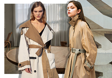 Spring as the Beginning -- The Comprehensive Analysis of Trench Coats from Designer Brands