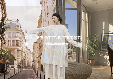 The Same Outside and Inside -- The Silhouette Trend for Women's Loungewear