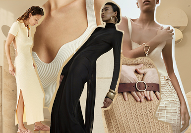 Hybrid Era and Gown-Style Elegance -- The Trend for Women's Sweater Dress