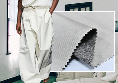 Urban Inhabitation -- The Fabric Trend for Men's Trousers
