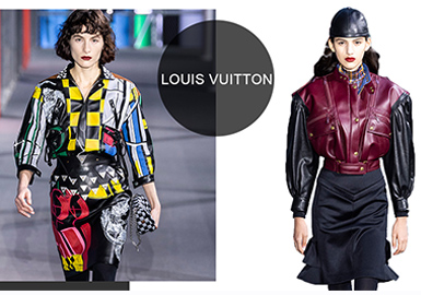 Louis Vuitton -- A/W 19/20 Analysis of Catwalks for Womenswear