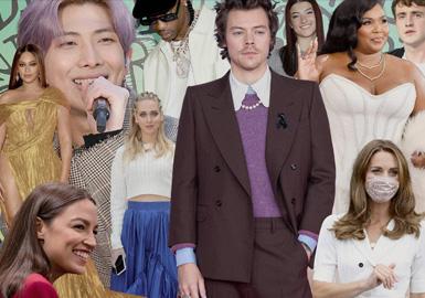 2020 Annual Celebrity Ranking of Fashion