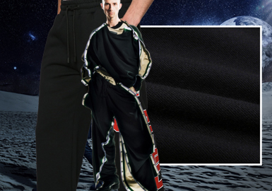 Upgraded Darkness -- The Fabric Trend for Men's Knitted Trousers