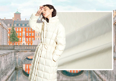 City Wandering -- The Fabric Trend for Women's Puffa Jacket