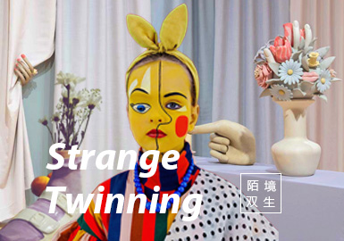 Strange Twinning -- The Theme Trend for S/S 2022 Kidswear