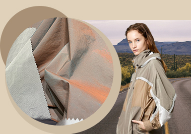 Outdoor New Looks -- The Fabric Trend for Women's Chemical Fiber Outerwear