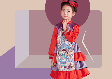Chinese New Year -- The Silhouette Trend for Kids' Formal Skirt