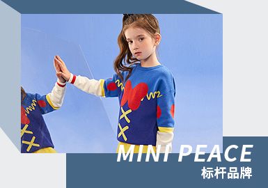 Spring and New Year of IP Collaboration -- Mini Peace The Kidswear Benchmark Brand