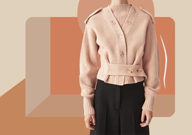 Minimalist Cardigan -- The Silhouette Trend for Women's Knitwear