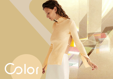 Apricot Gelato -- The Color Trend for Women's Knitwear