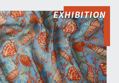 Charming and Bold -- The Fabric Analysis of Paris Première Vision Online Exhibition