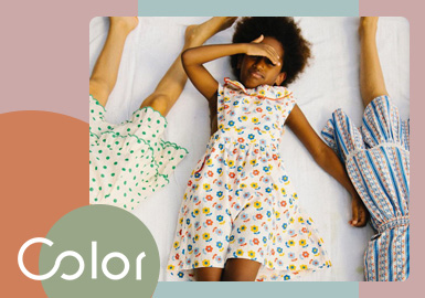 Cool and Joyful Summer Days -- The Color Trend for Girls' Dress