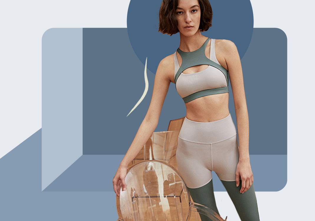 Complicated and Pretty Cut -- The Silhouette Trend for Women's Yoga Wear