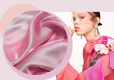 Fantastic and Charming -- The Chemical Fiber Fabric Trend for Womenswear