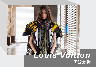 Classical and Reality -- The Womenswear Catwalk Analysis of Louis Vuitton