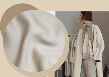 Minimalist Art -- The Fabric Trend for Women's Woolen Outerwear