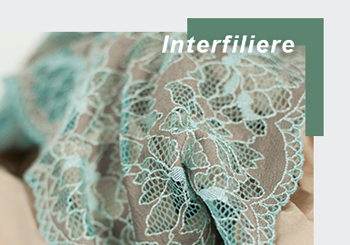 The New Application of Lace -- The Exhibition Analysis of Interfilière Paris