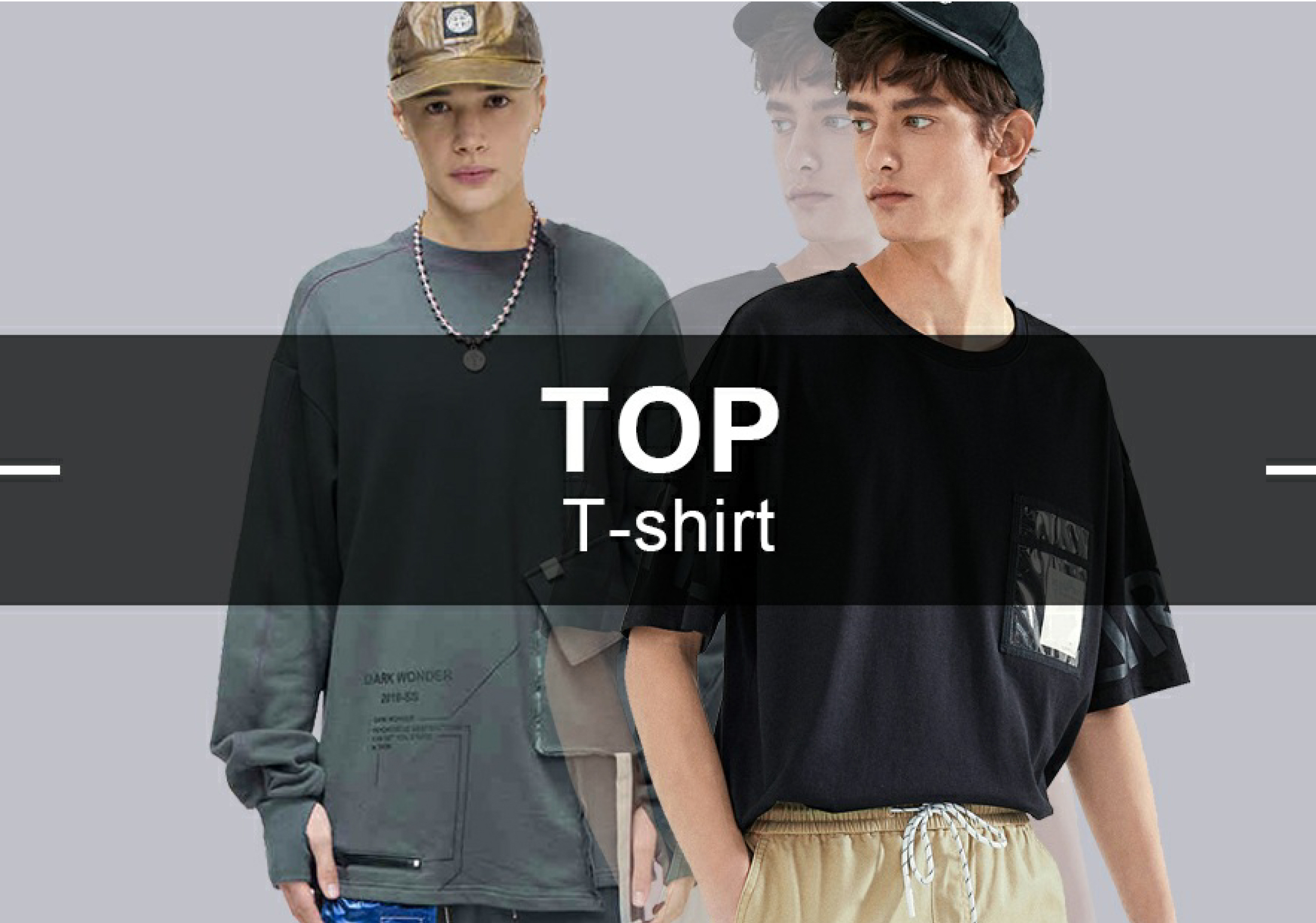 T-Shirt -- 2019 Resort Recommended Hot Items in Menswear Market