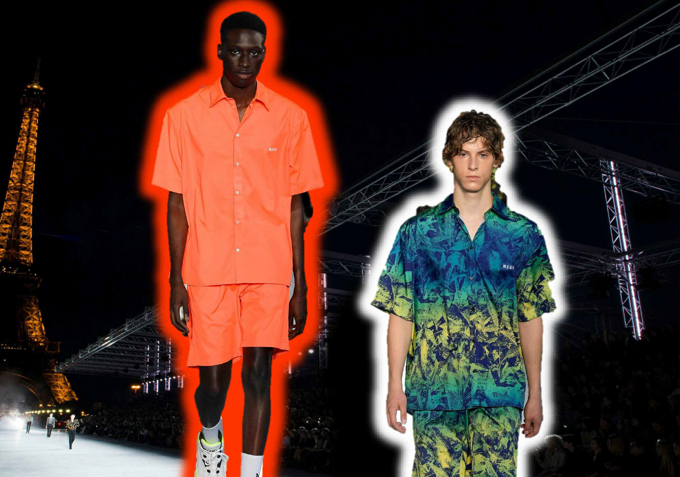 2019 S/S Material for Men's Matching Set -- Chic Sport