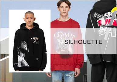 Statement Sweatshirts -- S/S 2020 Silhouette Trend for Menswear