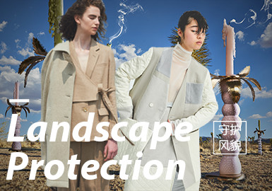 Landscape Protection- The Thematic Fabric Trend for Womenswear