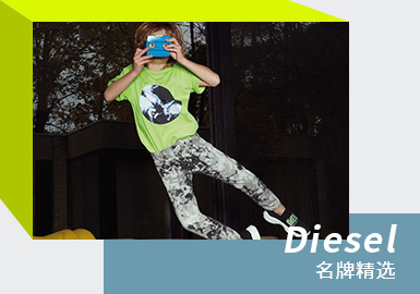 Playful Color -- Diesel The Refined Kidswear Brand