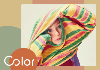 Glowing Color -- The Color Trend for Kids' Knitwear
