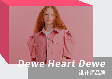 Retro Romance -- The Analysis of Dewe Heart Dewe The Womenswear Designer Brand