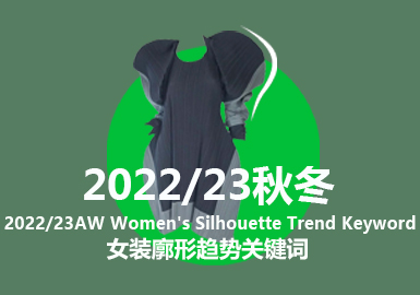 A/W 22/23 Women's Silhouette Trend Keywords