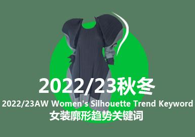 A/W 22/23 Women's Silhouette Trend Keywords
