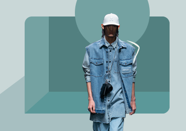 Indigo Memory -- The Silhouette Trend for Men's Denim