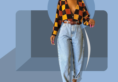 Avant-garde Style -- The Silhouette Trend for Women's Jeans