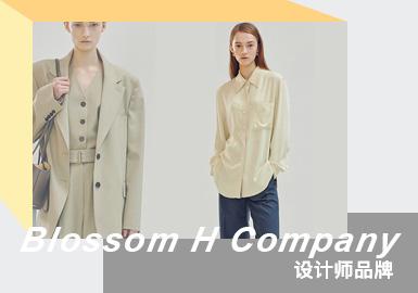 Intellectual Elegance -- Blossom H Company The Womenswear Designer Brand