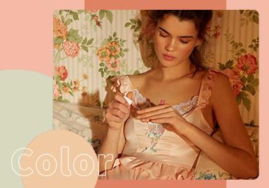 Retro Romance -- The Color Trend for Women's Underwear & Loungewear