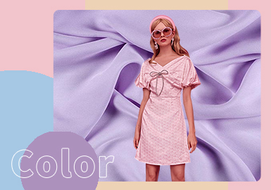 Romantic Smoothness -- The Color Trend for French Style Women's Silk