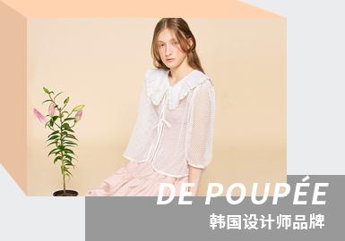Refreshing Spring -- The Analysis of DE POUPÉE The Womenswear Designer Brand