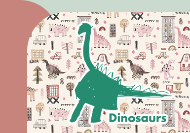 The Invasion of Dinosaur -- The Pattern Trend for Infants' Wear