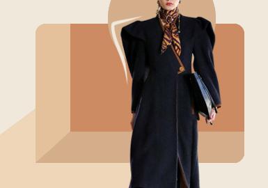 Enlarged Overcoat -- The Silhouette Trend for Women's Overcoat
