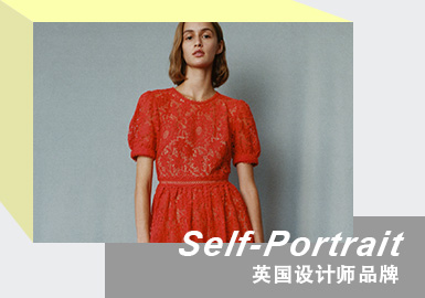 The Wardrobe of Celebrity -- The Analysis of Self-Portrait The Womenswear Designer Brand