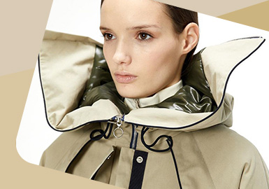 The Protection of Head and Neck -- The Detail Trend for Women's Outerwear